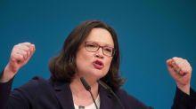Kritik an Wortwahl: Juso-Chef Kevin Kühnert verteidigt Andrea Nahles