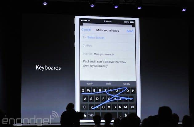 Apple will finally support third-party keyboards in iOS 8