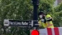 Washington Mayor Renames Street Near White House 'Black Lives Matter Plaza'