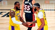 Lakers dominate Heat for lopsided win in Game 1