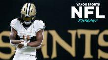 NFL Podcast: Alvin Kamara's trade potential and Leonard Fournette landing spots