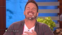 Things Go Hilariously Haywire When Chris Pratt and Ellen Try to Play Game