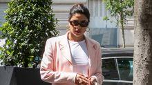 Priyanka Chopra wears stunning pastel pink saree at Sophie Turner and Joe Jonas' second wedding