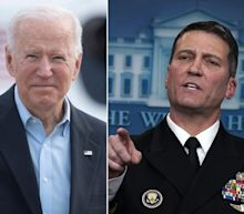 Trump's former physician sent a letter to Biden asking him take a cognitive test - and more than a dozen Republicans signed it