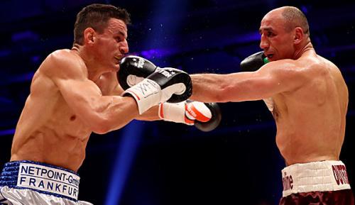 Boxen: Abraham sichert sich WM-Chance durch Sieg gegen Krasniqi