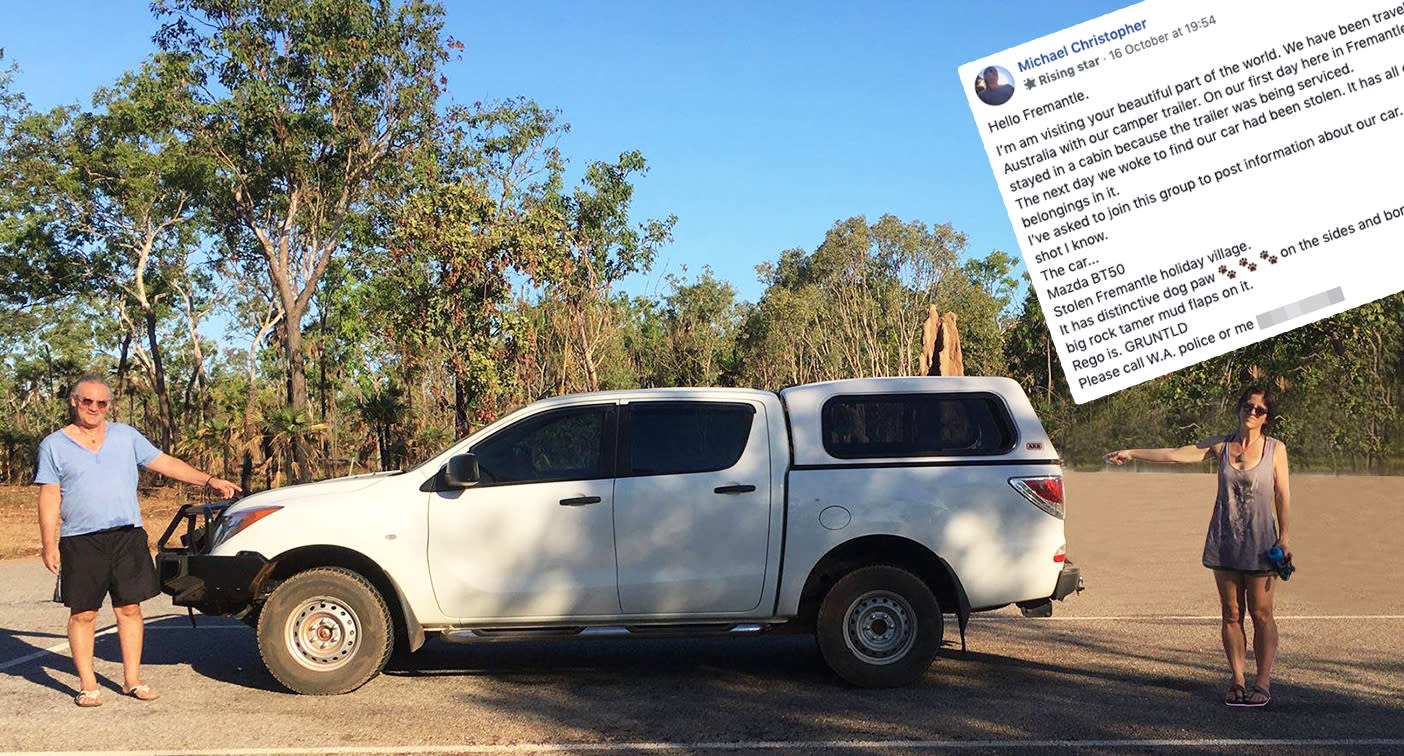 How almost 40,000 people helped Aussie man solve mystery of stolen car