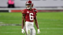 Brian Flores on DeVonta Smith's size: Good players are good players