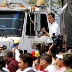 Venezuela humanitarian aid met with teargas and gunfire on borders