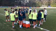 Sem Marta, cortada por lesão, seleção faz primeiro treino com Pia Sundhage