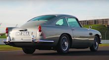 Here's a closer look at Bond's No Time To Die Aston Martin DB5