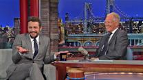 "James Franco Talks Kim Jong-un and ""The Interview"" with David Letterman"