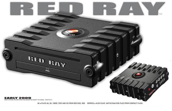 RED keeps it coming with the RED RAY disk drive