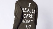Melania Trump's controversial jacket inspires 'I care' fashion