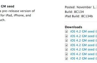 Apple outs new iOS 4.2 gold master that fixes iPad's WiFi woes