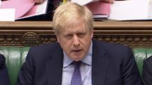 Corbyn labels Johnson 'part-time prime minister' after PM stayed in mansion during flooding