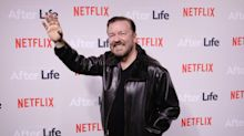 Ricky Gervais only spends eight minutes a day writing scripts because his attention span is so short