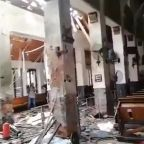 Easter Sunday attacks in Sri Lanka leave at least 160 dead