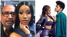 Cardi B Sports Most Unusual & Painful Lip Piercing Post Her Grammys Win