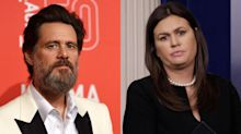 Jim Carrey stands by 'ugly' Sarah Sanders portrait: 'I drew her in essence'