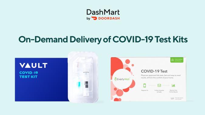 DoorDash COVID-19 test kits