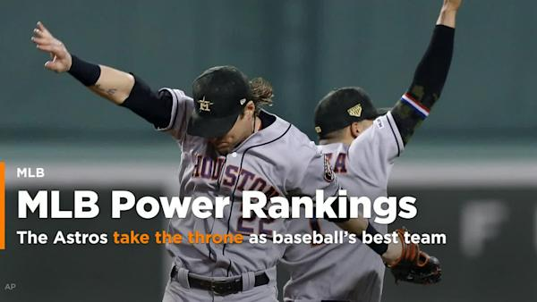c67b7c0d9 MLB Power Rankings  The Astros take the throne as baseball s best team