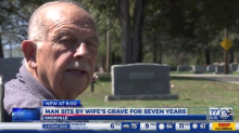 Grieving Husband Has Visited Wife's Grave Every Day for the Past 7 Years