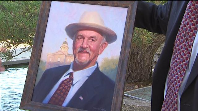 Politician Pays for Portrait with Campaign Funds