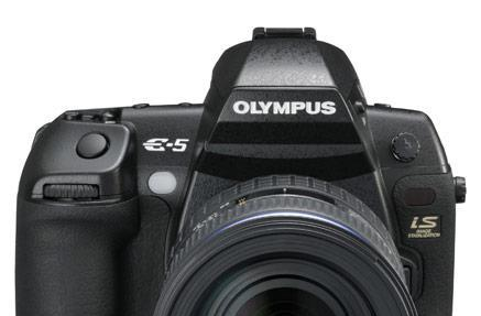 Olympus E-5 DSLR gets official: 12.3MP, 720p movie mode, swiveling LCD