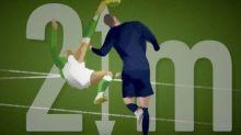 Foot - L1 - Buts redessinés - Les plus beaux buts redessinés #7: Ilan, un ciseau de haute voltige (PSG - Saint-Étienne 2007)