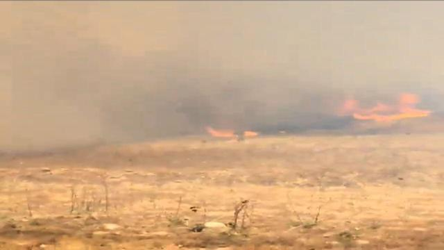 California Wildfire Burns 800 Acres of Land