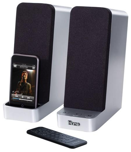 iHome launches the iH69 and iH70 computer speaker iPod docks