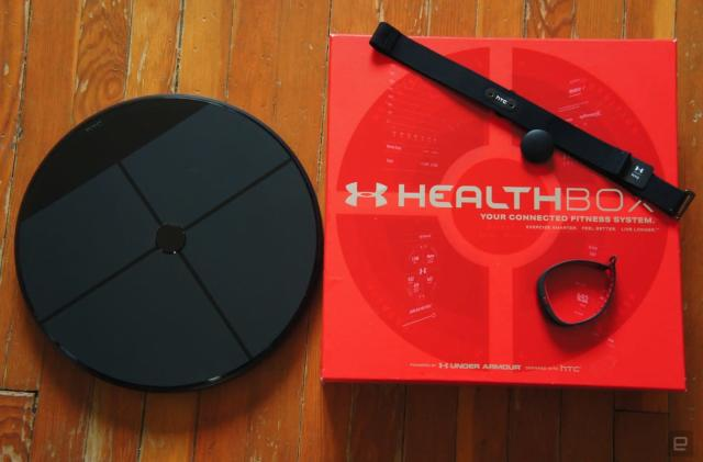 HTC and Under Armour's HealthBox hits the UK in June
