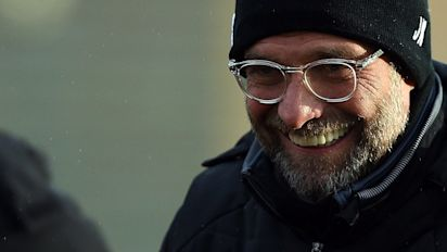 Man City are on course for the title, but Liverpool can aim to be best of the rest, says managerJurgen Klopp