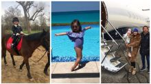 The glamorous life of Tamara Ecclestone's four-year-old daughter