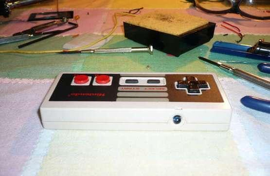 Apple Remote and classic NES controller meet in NesRemote