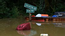 PHOTOS: Northern California communities flooded by rain-engorged river