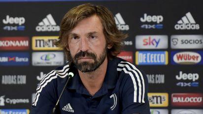 Rookie coach Pirlo demands 'desire and ferocity' from Juve against Ranieri's Samp