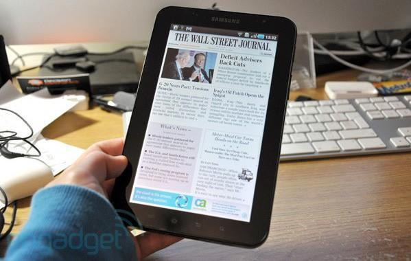 Wall Street Journal releases Android Tablet Edition app, phones need not apply