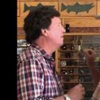 'You are the worst human being': Montana man shouts down Tucker Carlson in video from fly fishing store