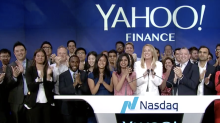 Yahoo Finance rings the Nasdaq closing bell