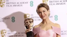Hugh Grant teases Renee Zellweger in brilliant 'Bridget Jones' callback at the BAFTAs