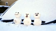 日本多處受暴風雪侵襲 居民災難中自娛