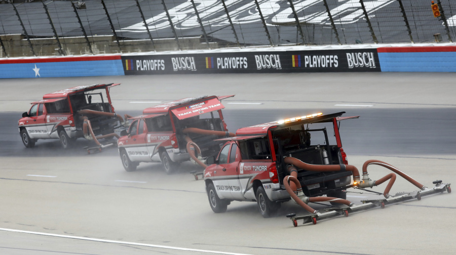 Another day, another NASCAR weather delay