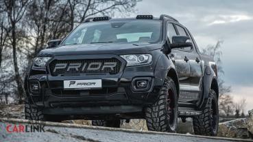 越野硬漢「時髦化」!Ford Ranger「都會型」Prior-Design寬體套件