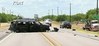 5 dead after SUV fleeing from Border Patrol agents crashes