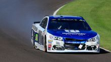 Dale Earnhardt Jr.'s last Brickyard 400 ends after post-restart contact
