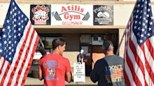 New Jersey gym owners defy pandemic orders, break into business closed by state and reopen