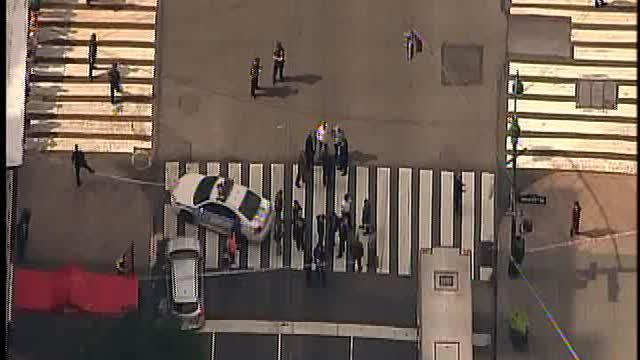 Shooting outside Empire State Building