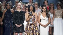 Aly Raisman and 140 of Larry Nassar's Victims Unite on the ESPYs Stage: 'We Survive Together'
