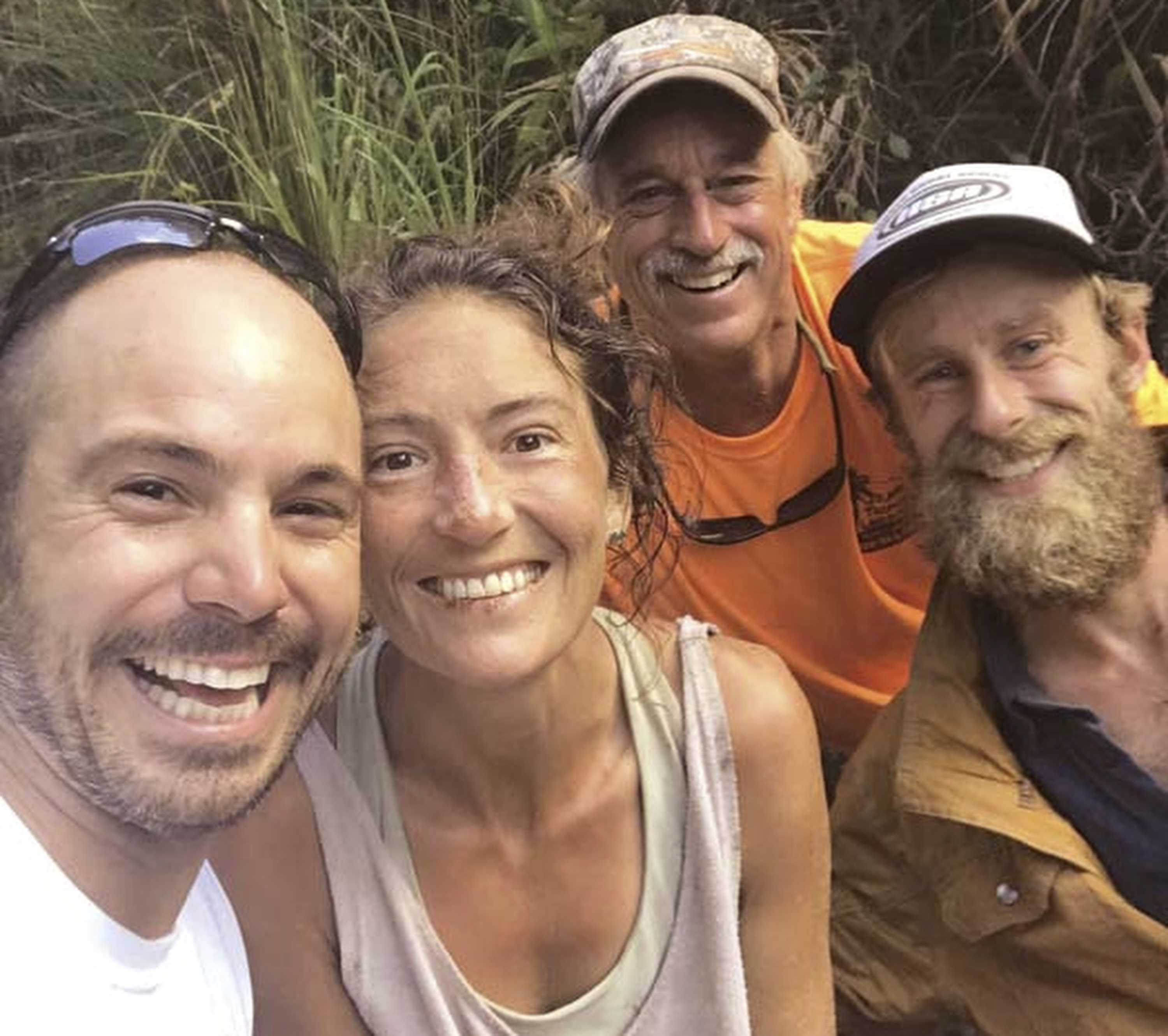 Hawaii woman fell to ground bawling when found in forest